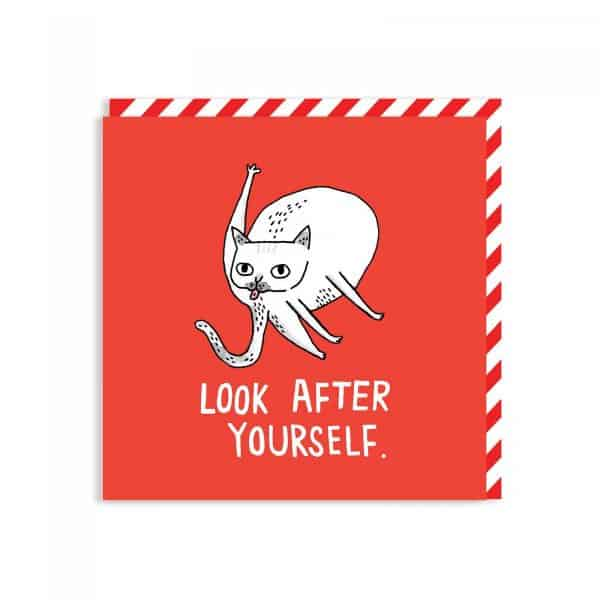 Look After Yourself Greeting card