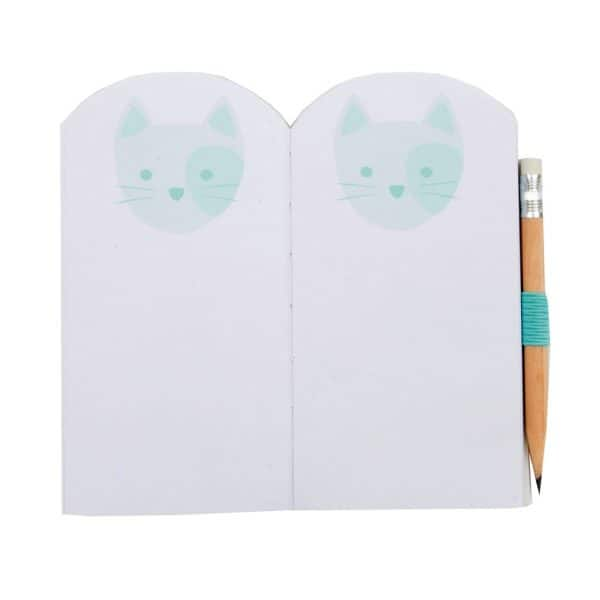 Mini Notebook with Pencil