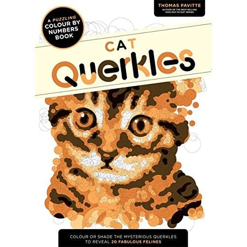 Cat Querkles - Colouring By Numbers