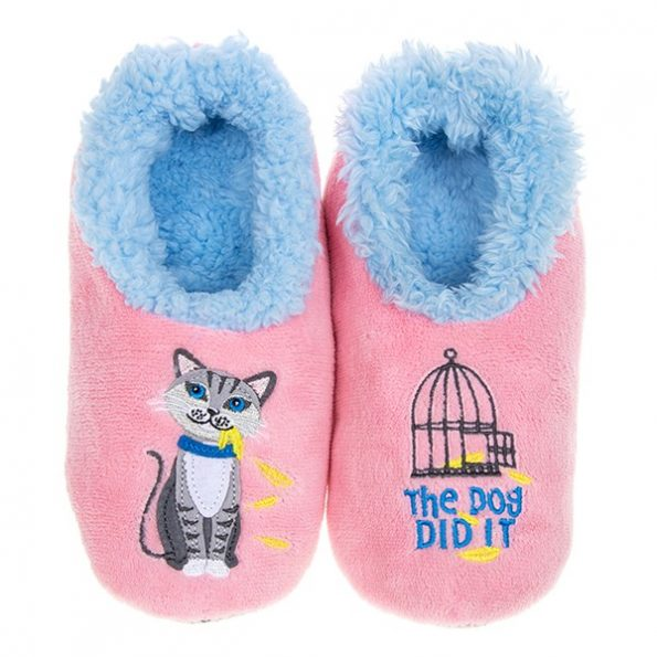 Snoozies! The Dog Did It Slippers