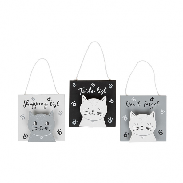 Cats Whiskers 'Don't Forget!' Pegs - Set of 3