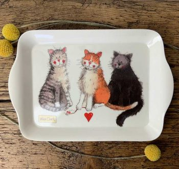 Alex Clark Small Melamine Tray - The Good, Bad and Incredibly Furry
