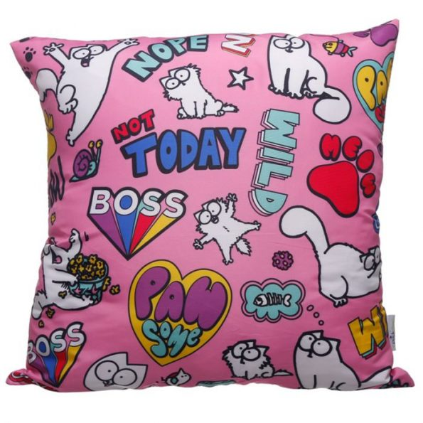 Pawesome Cat Cushion Cover