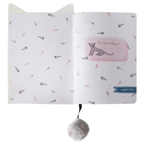 Over The Moon Cat Notebook