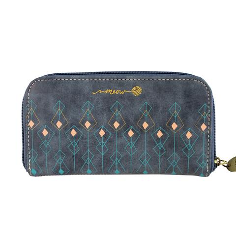 Meow Wallet Repeat Print
