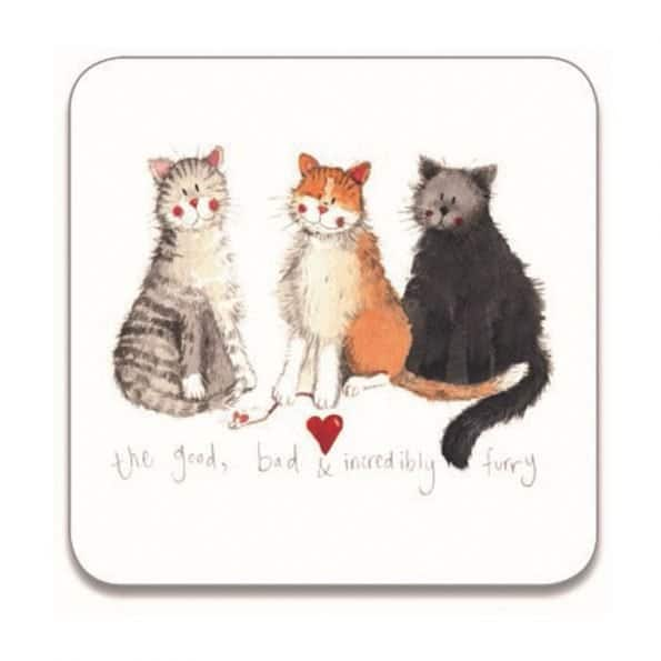 Alex Clark The Good, The Bad and Incredibly Furry Coaster
