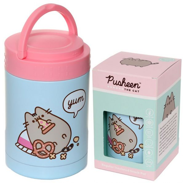 Pusheen Hot & Cold Thermal Insulated Lunch/Snack Pot